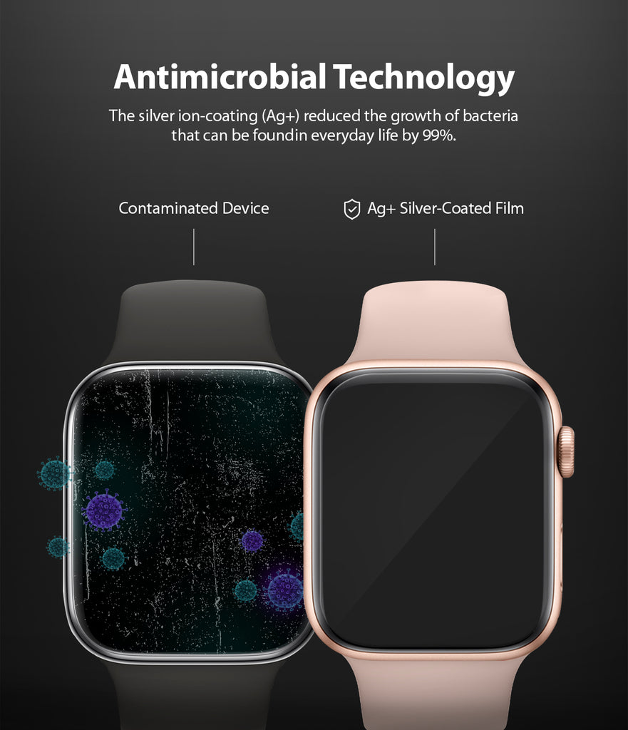 antimicrobial technolgy : the silver ion-coating reduced the growth of bacteria that can be found in everyday life by 99%