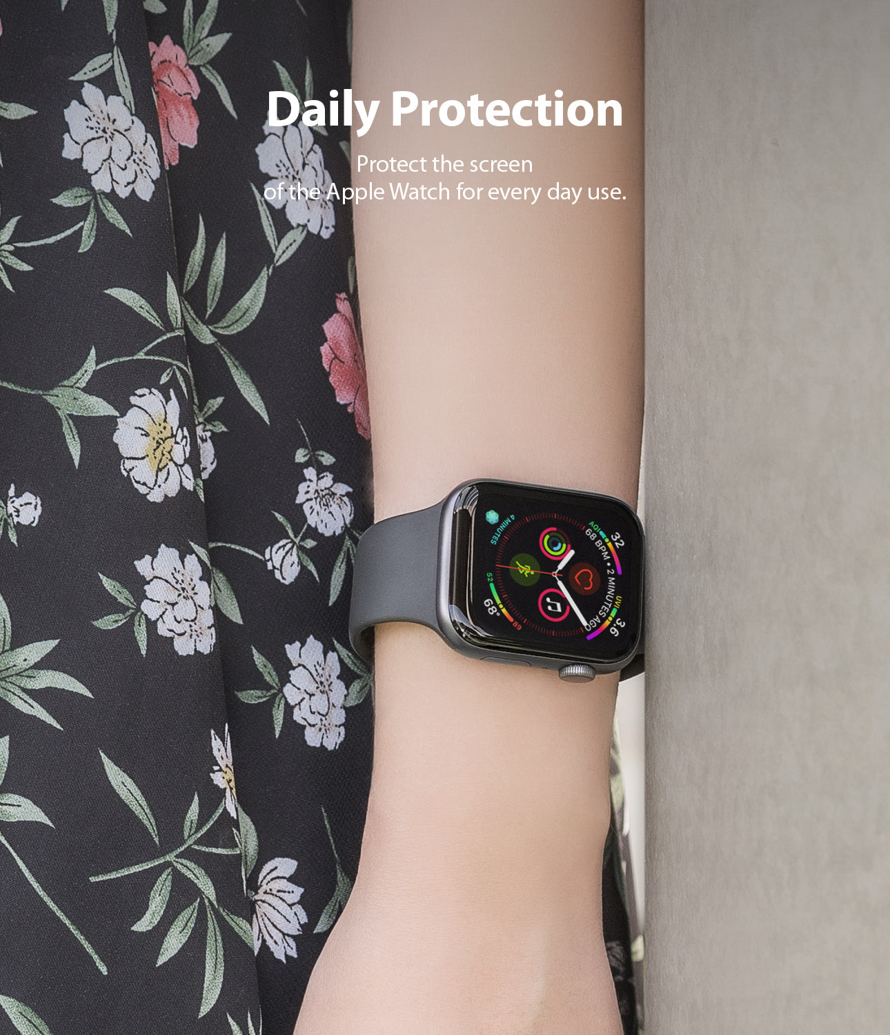 daily protection : protect the screen of the apple watch for everyday use
