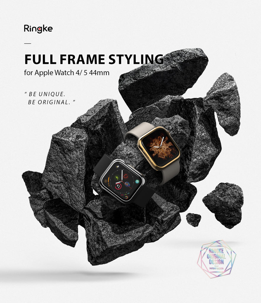 ringke full frame styling for apple watch 4/5 44mm - 44-72