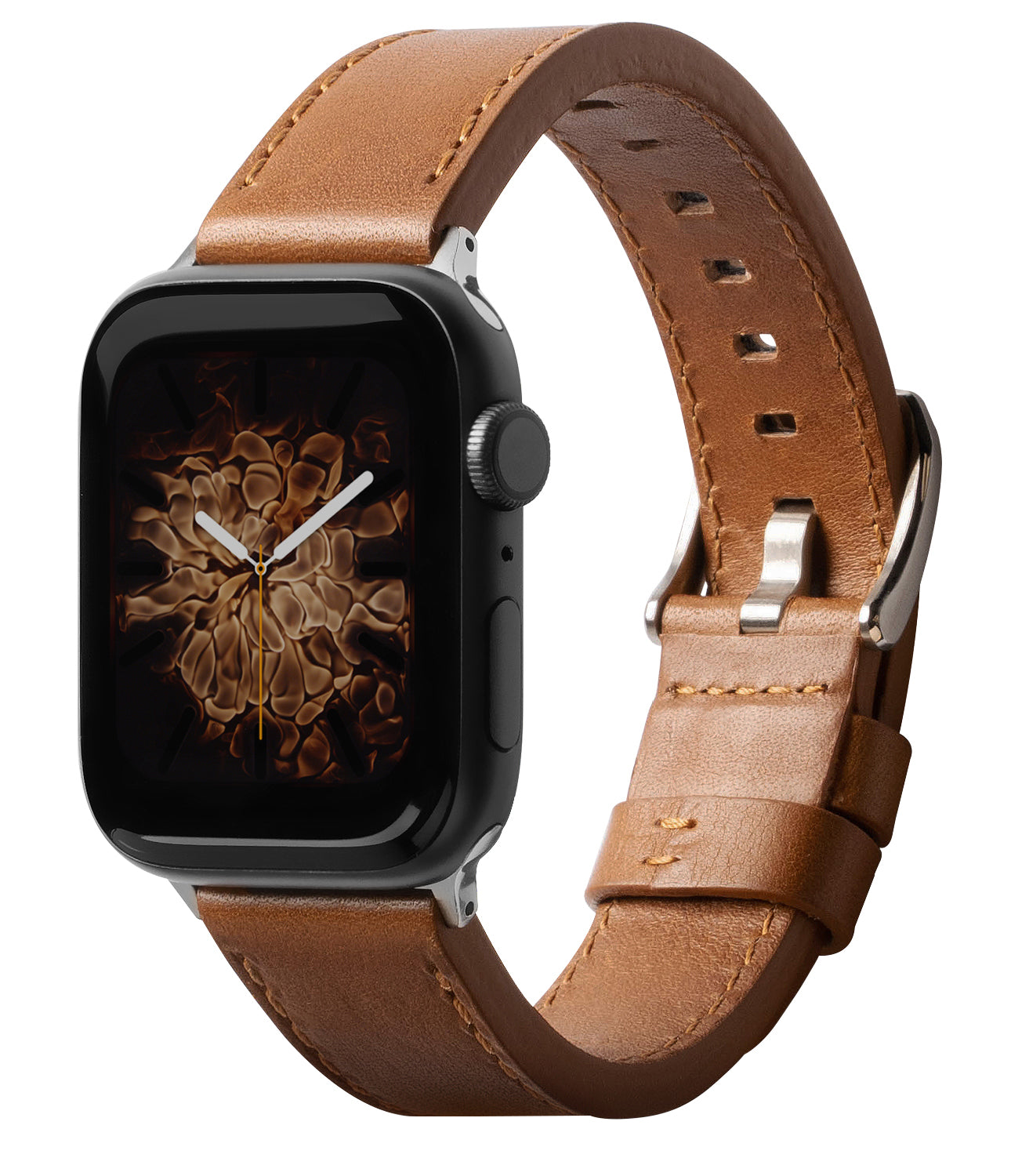 Ringke Leather One Classic Watch Band for Apple Watch 1/2/3 (42mm) - brown