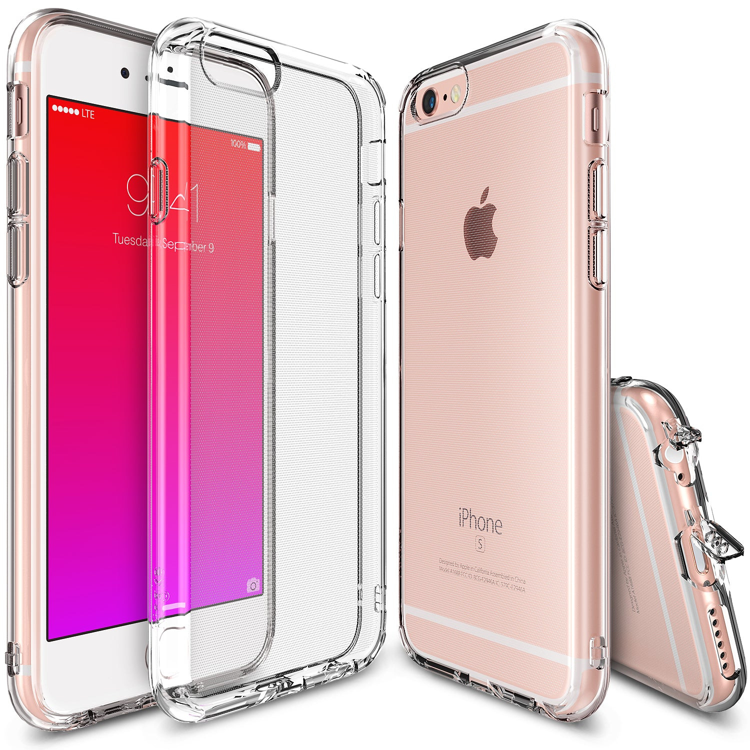 ringke air lightweight thin slim case cover for iphone 6 6s main clear