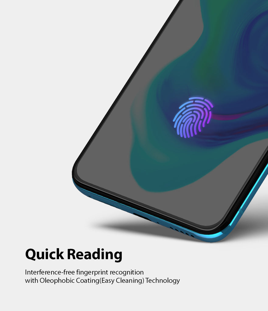 quick reading - interference free fingerprint recognition