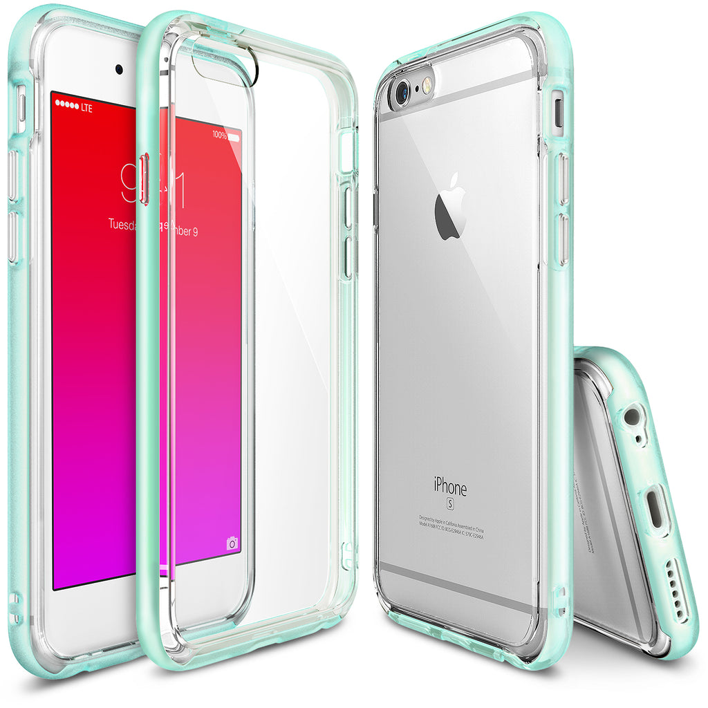 ringke frame bezel side protection case cover for iphone 6 6s main frost mint