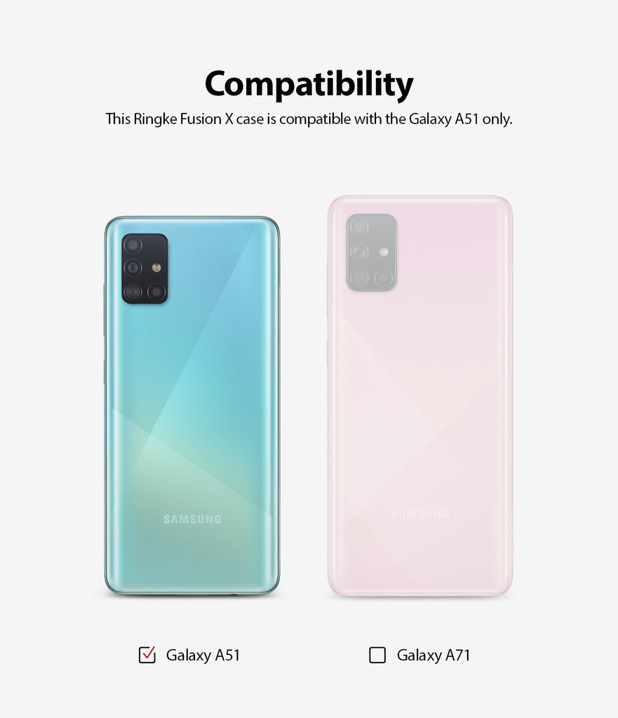 compatible with samsung galaxy a51