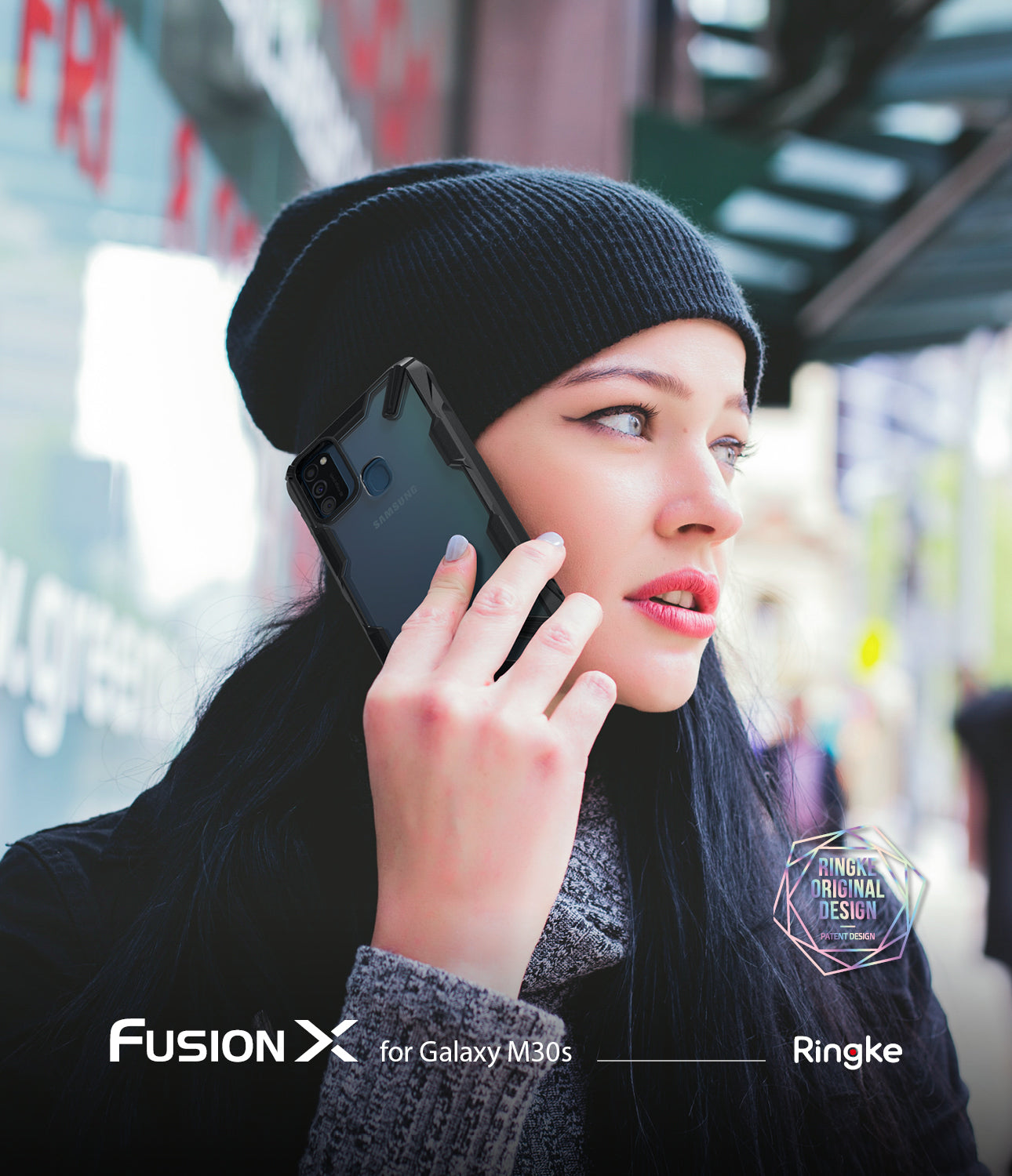 ringke fusion-x case designed for samsung galaxy m30s