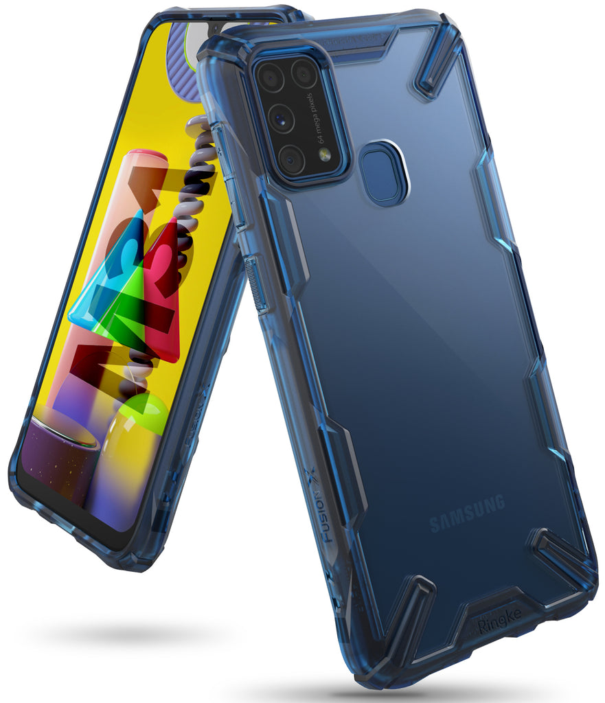 ringke fusion-x case designed for samsung galaxy m31