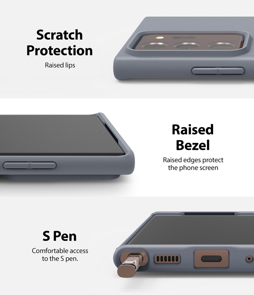 scratch protection and raised bezel to protect the screen