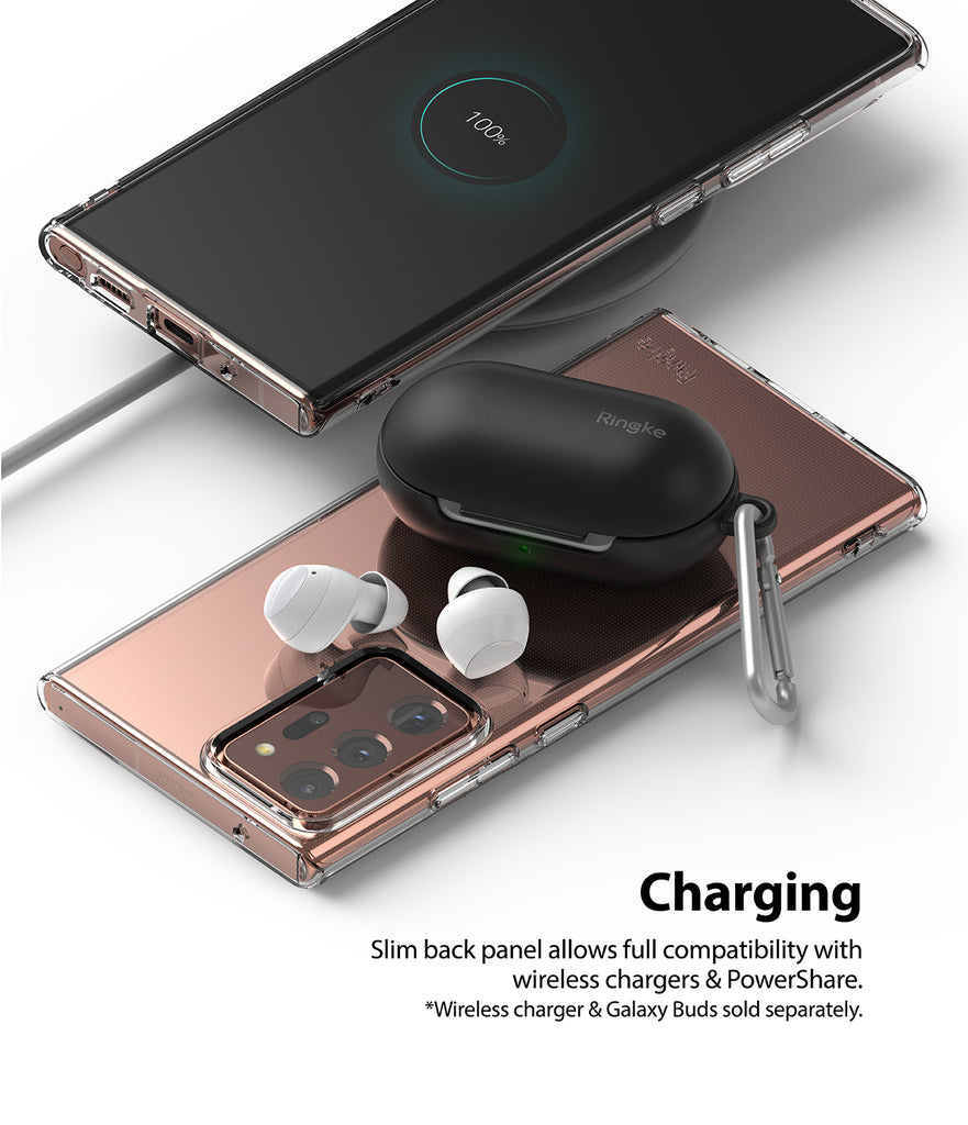 slim pack panel allows full compatibility with wireless chargers and powershare