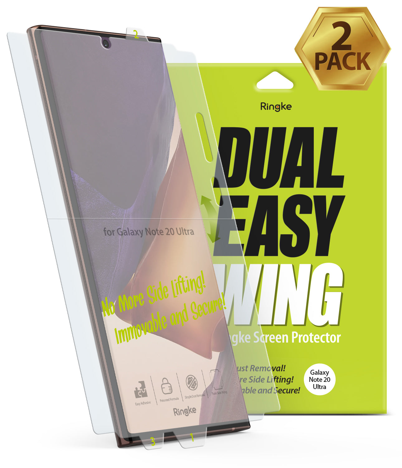 Galaxy Note 20 Ultra Screen Protector | Dual Easy Film