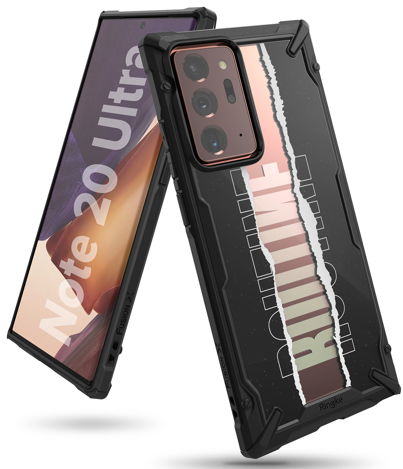 ringke fusion-x design case for galaxy note 20 ultra - routine