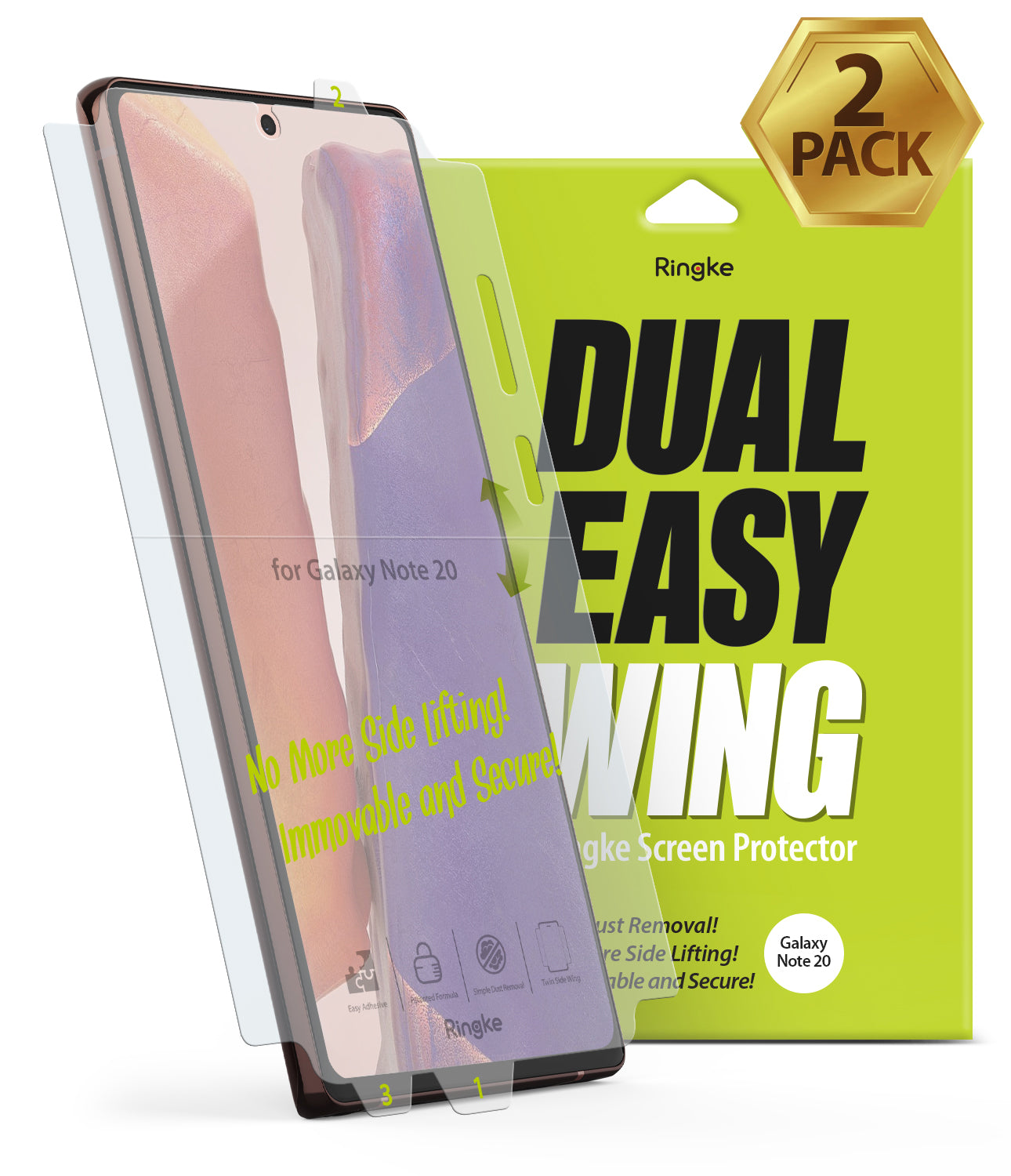 Galaxy Note 20 Screen Protector | Dual Easy Film