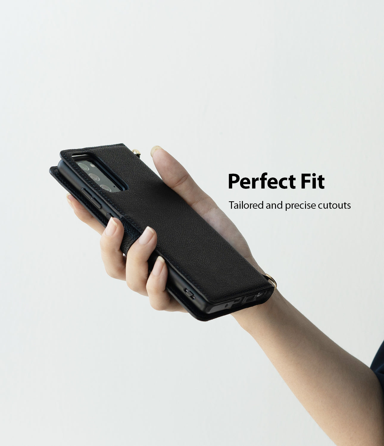 perfect fit - tailored and preicse cutouts