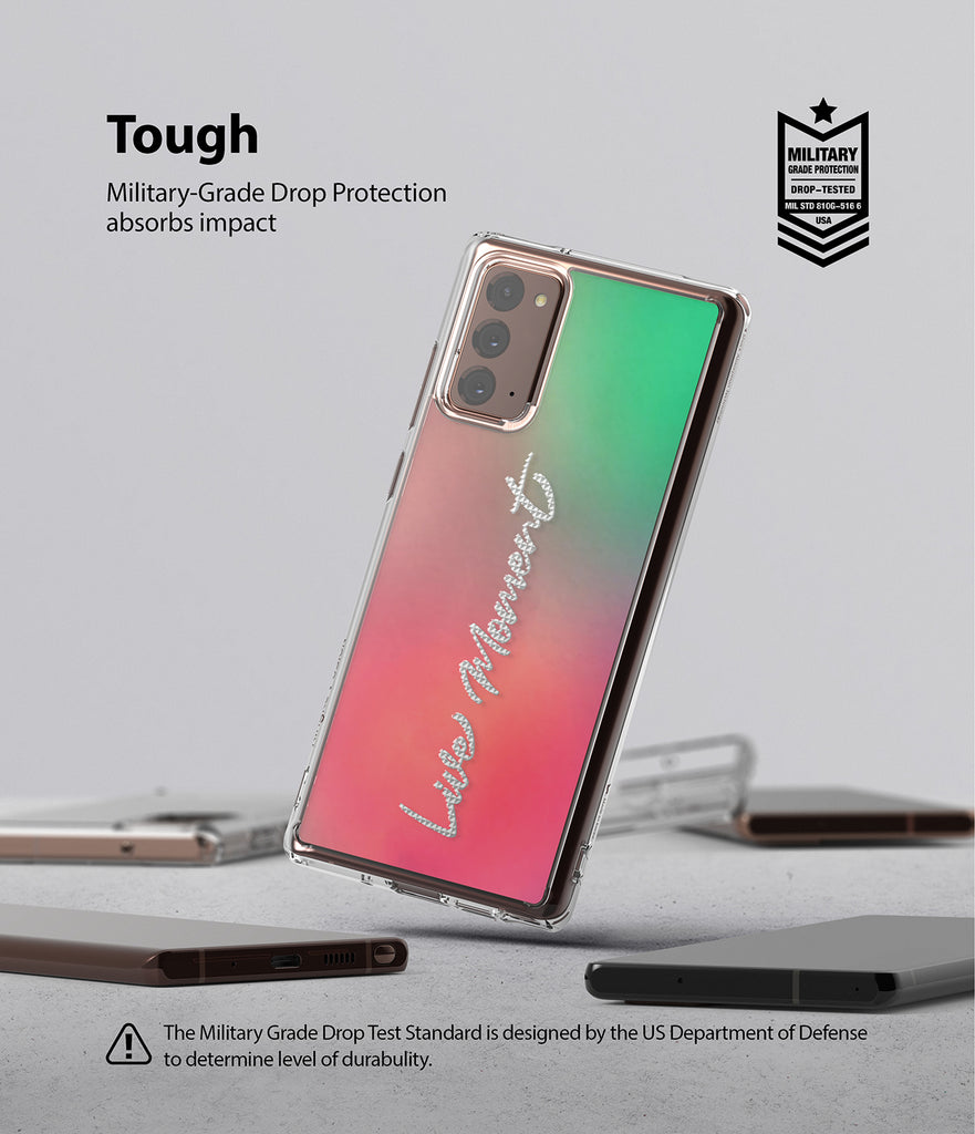 Galaxy Note 20 Case | Fusion Design 02. Live Moment