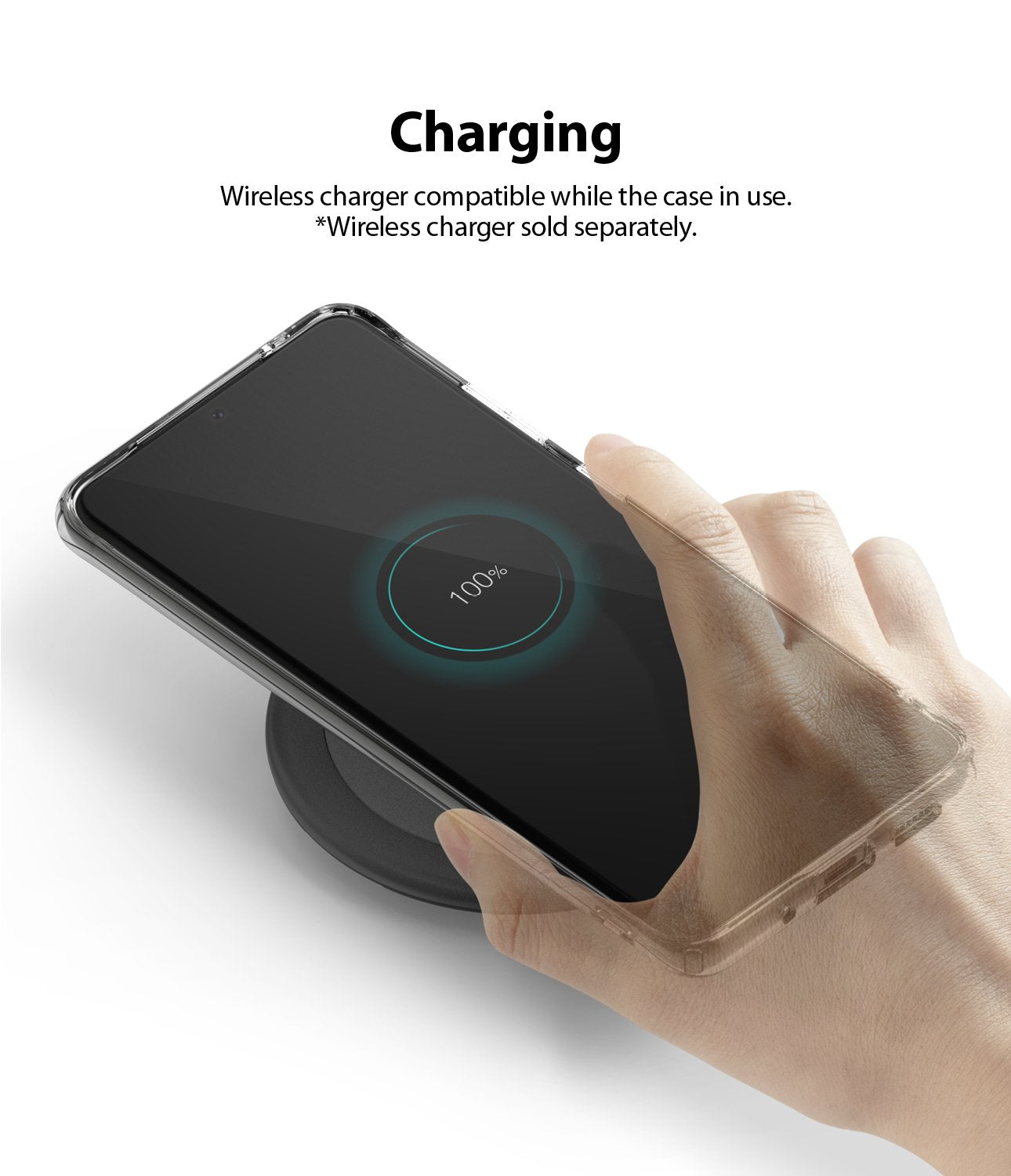 Ringke Galaxy S20 Ultra Case Air, wireless charging compatible
