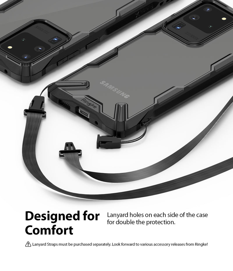 Ringke Fusion-X for Samsung Galaxy S20 Ultra Black Color