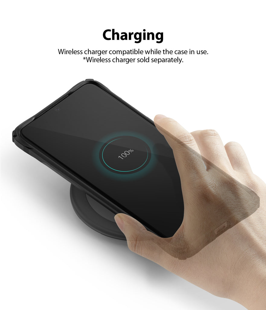 Ringke Fusion-X case for Samsung Galaxy S20 Ultra, wireless charging compatible