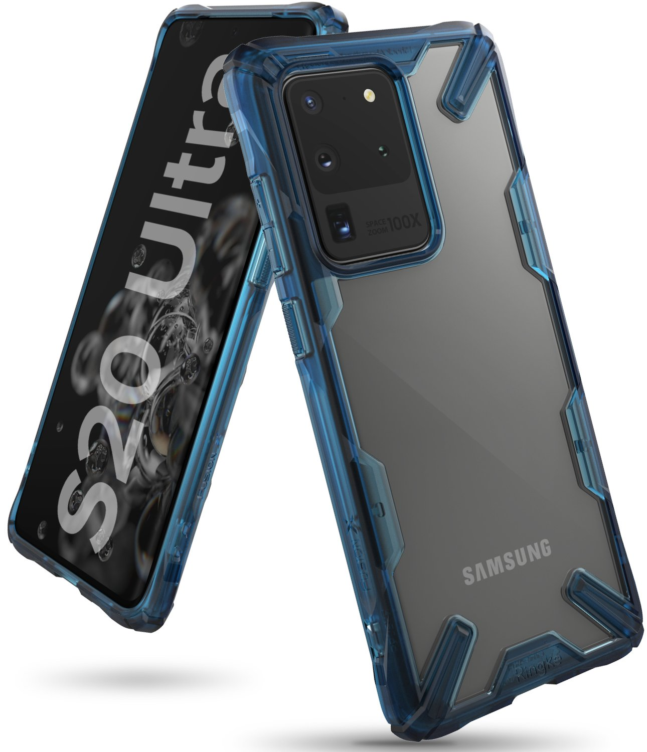 Ringke Fusion-X for Samsung Galaxy S20 Ultra Space Blue