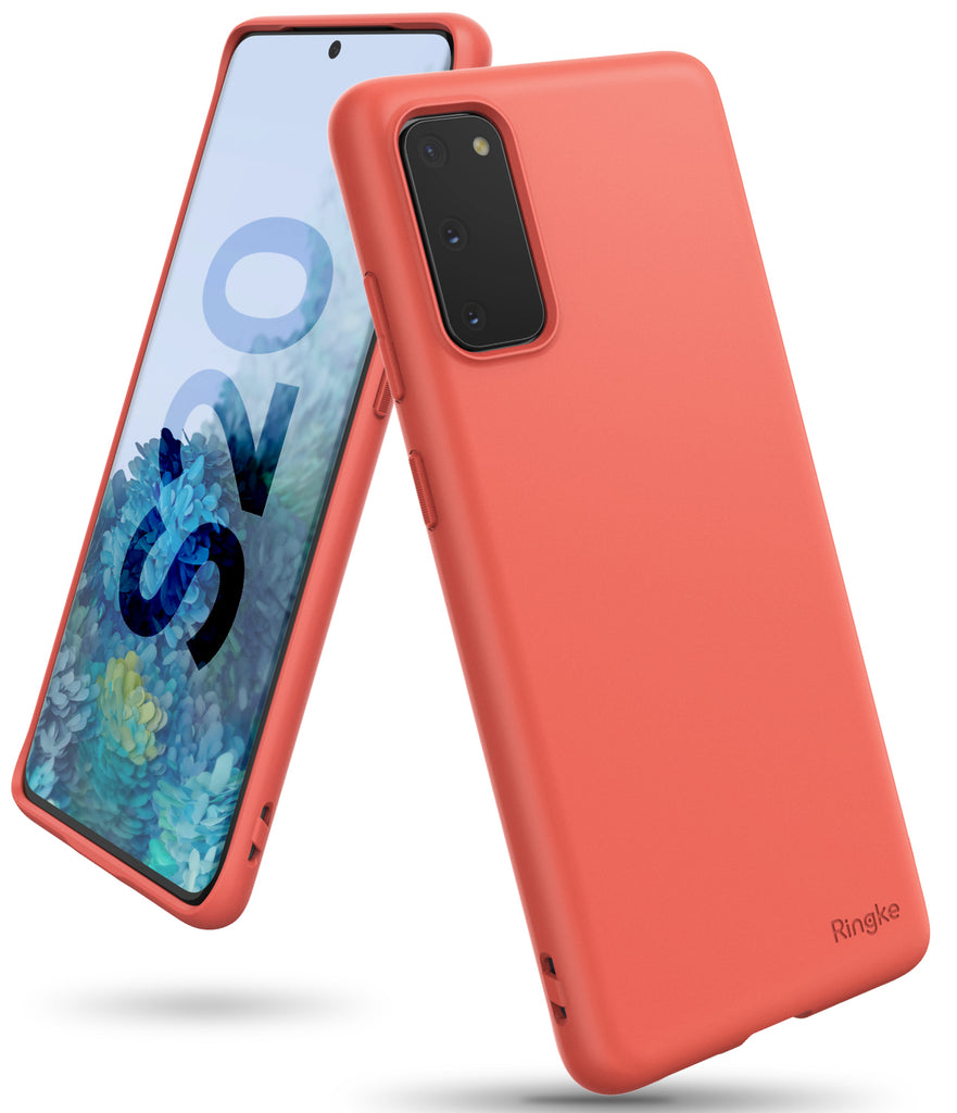 ringke galaxy s20 air-s case 5G, Coral, slim case