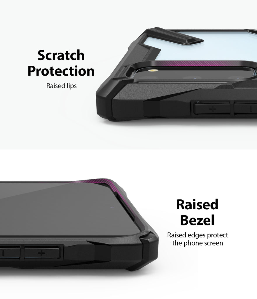 Ringke Galaxy S20 Fusion-X Case Black Color