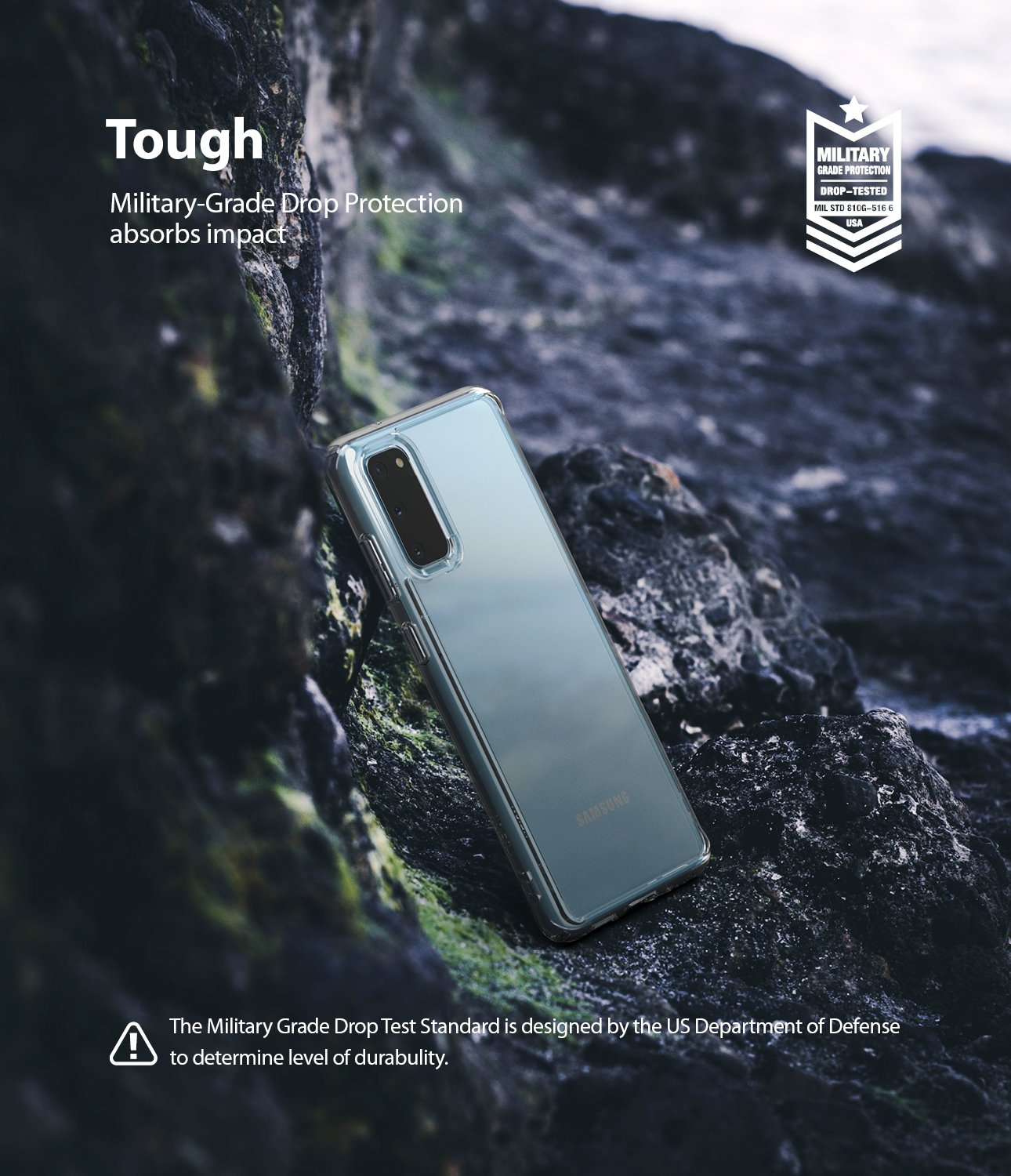 Ringke Fusion case for Samsung Galaxy S20 5g, tough, protection