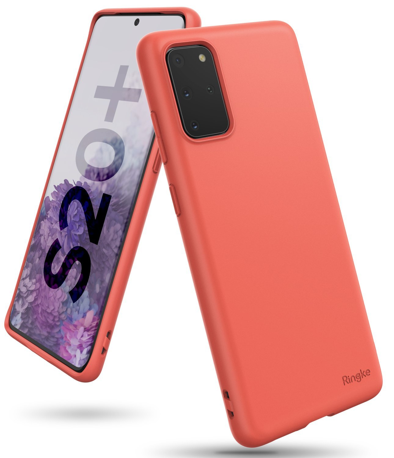 Galaxy S20 plus Case ringke Air-S, coral, main image