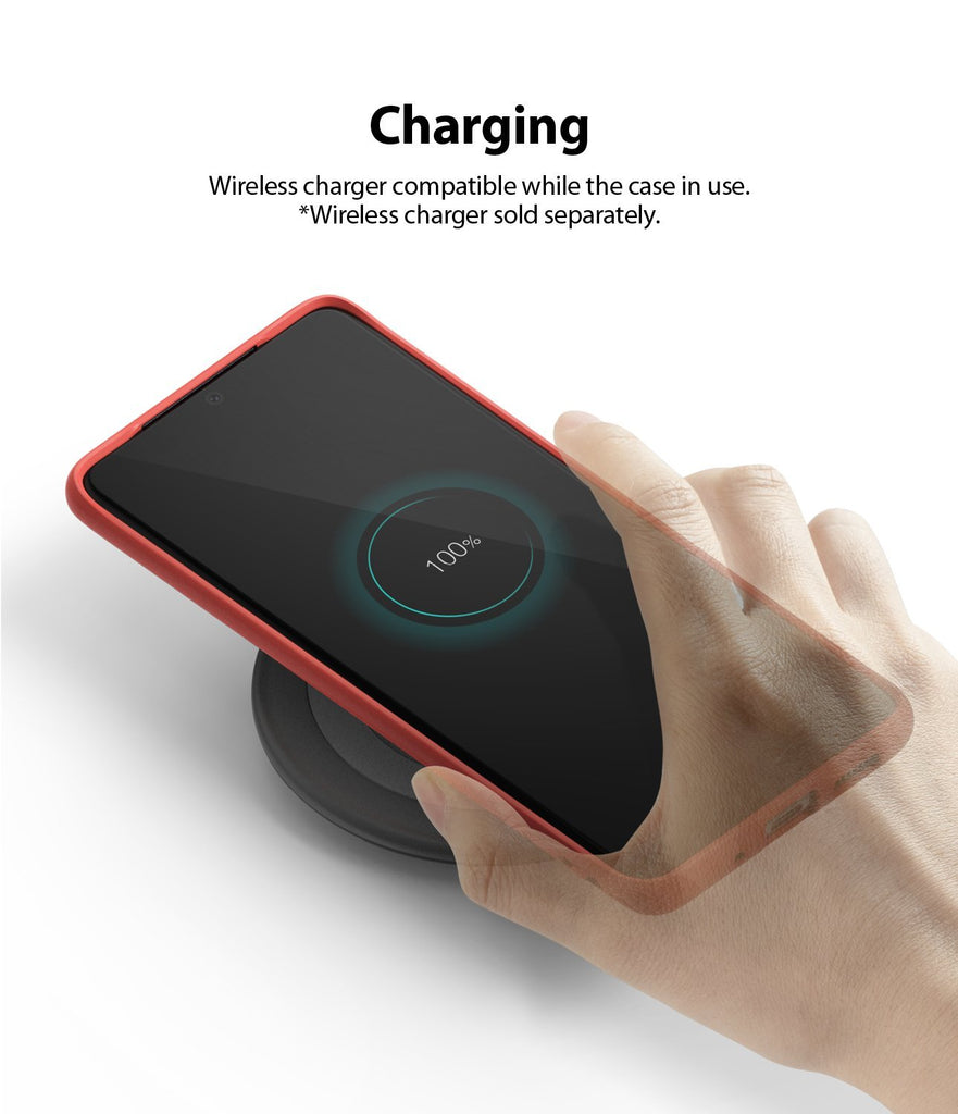 Galaxy S20 plus Case ringke Air-S, wireless charging compatible