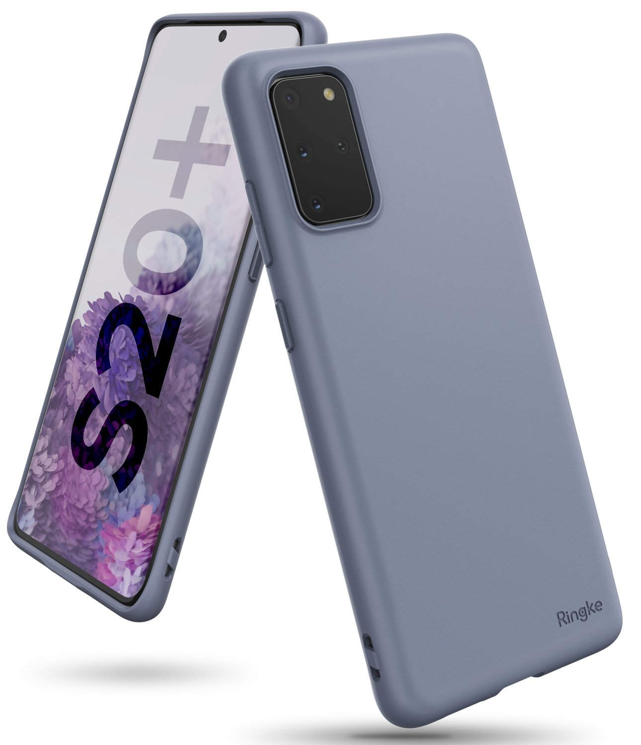 Galaxy S20 plus Case ringke Air-S, lavender gray, main image