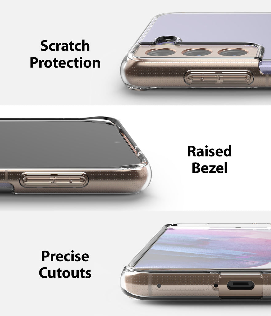 scratch resistant with raised bezel