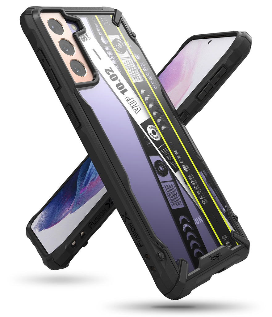 ringke fusion-x case for galaxy s21 plus - ticket bnad