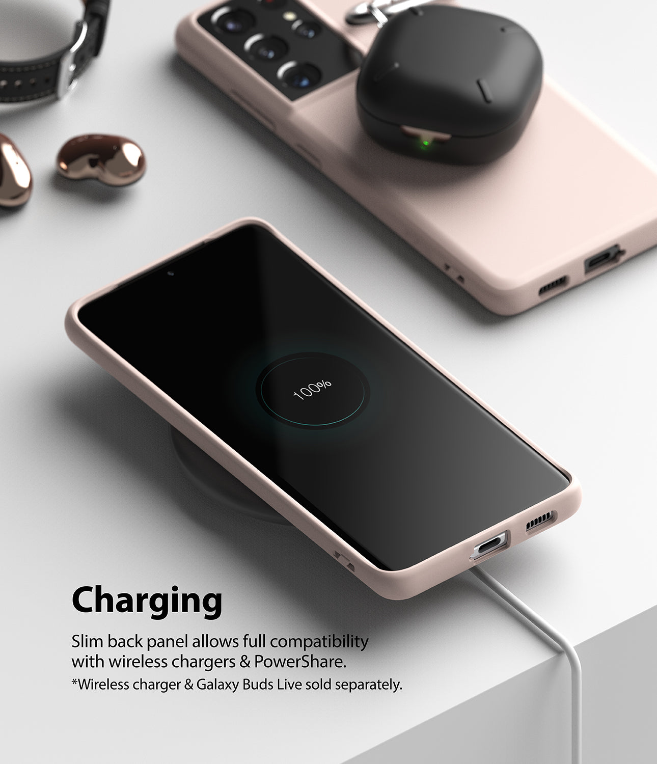 compatible with wireless charging