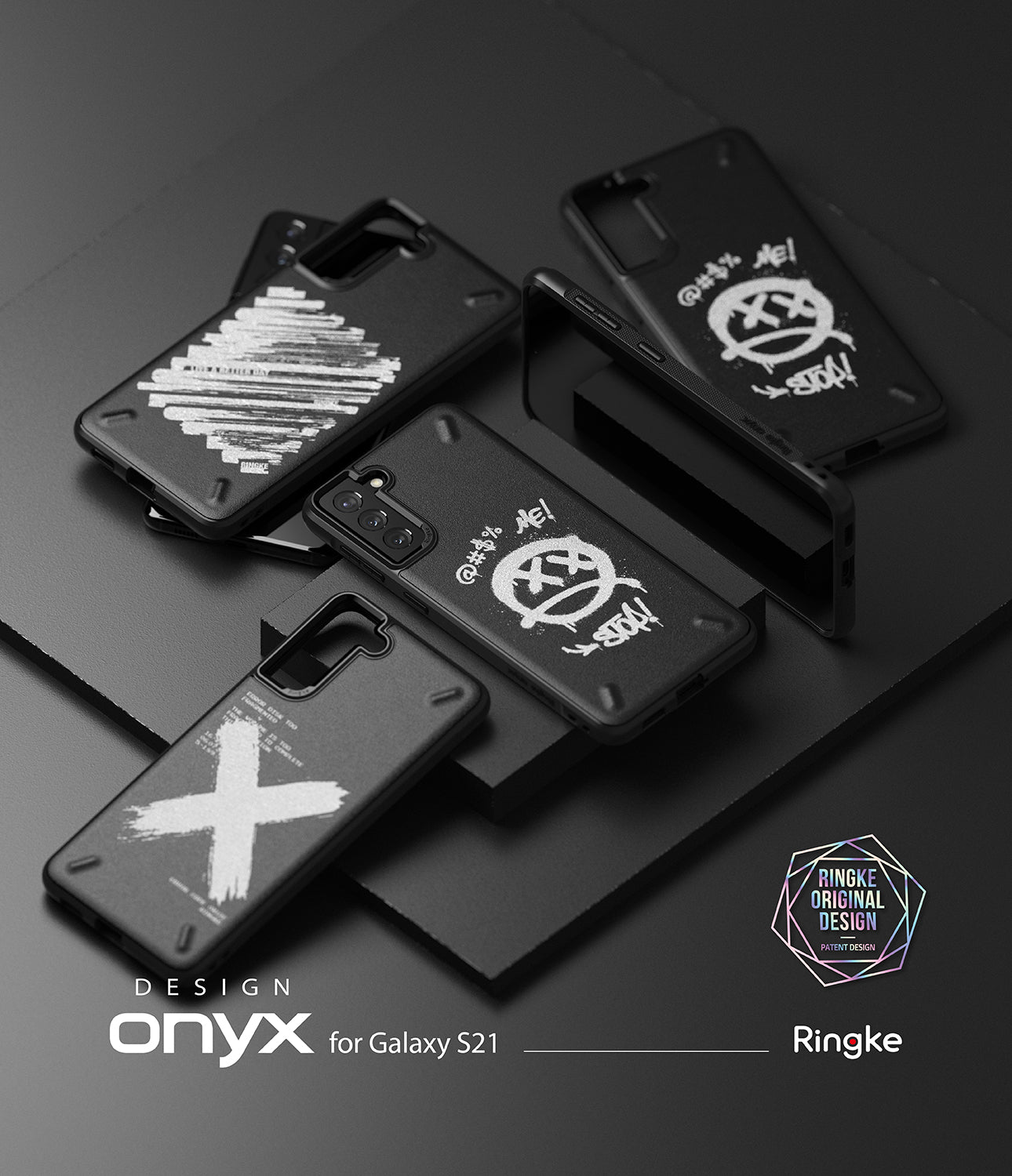 ringke onyx design case for galaxy s21