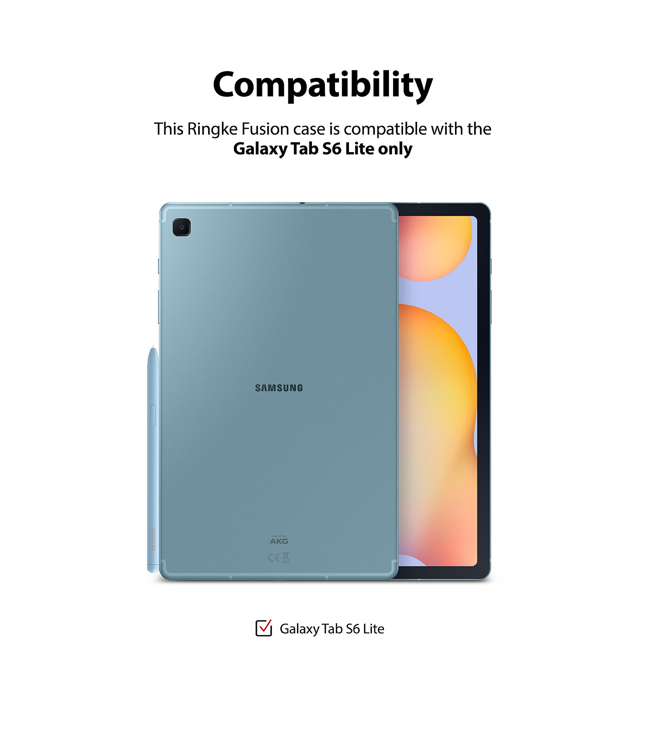 compatibility - compatible with galaxy tab s6 lite