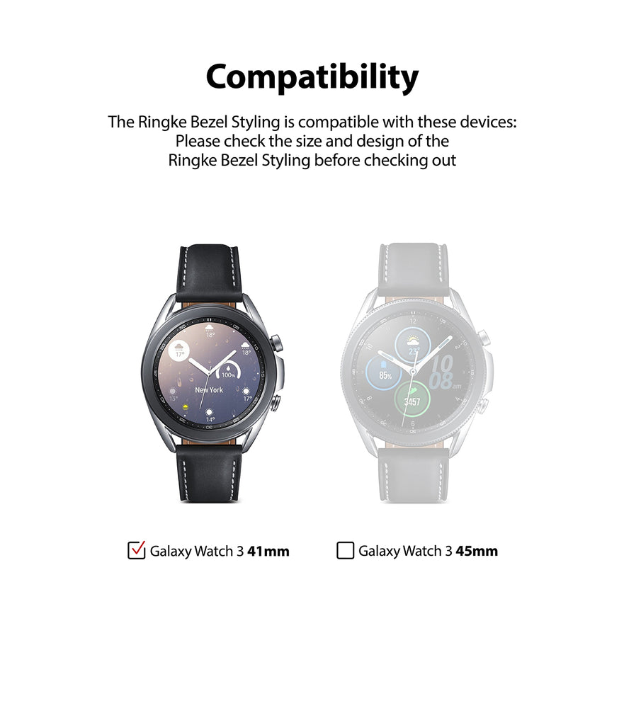 only compatible with galaxy watch 3 41mm