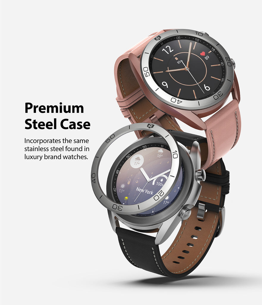 premium stainless steel case