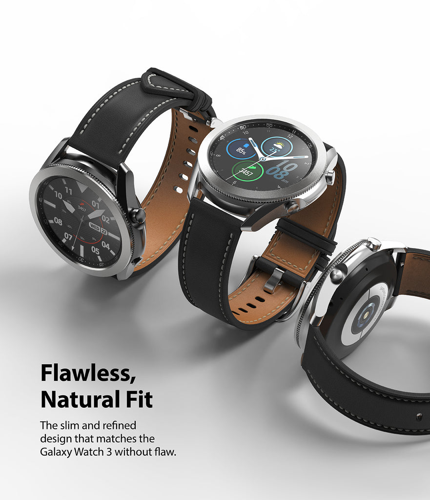 the slim and refined design that matches the galaxy watch 3 without flaw