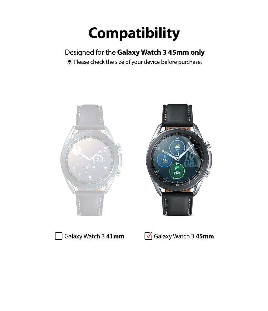 designed for galaxy watch 3 45mm only