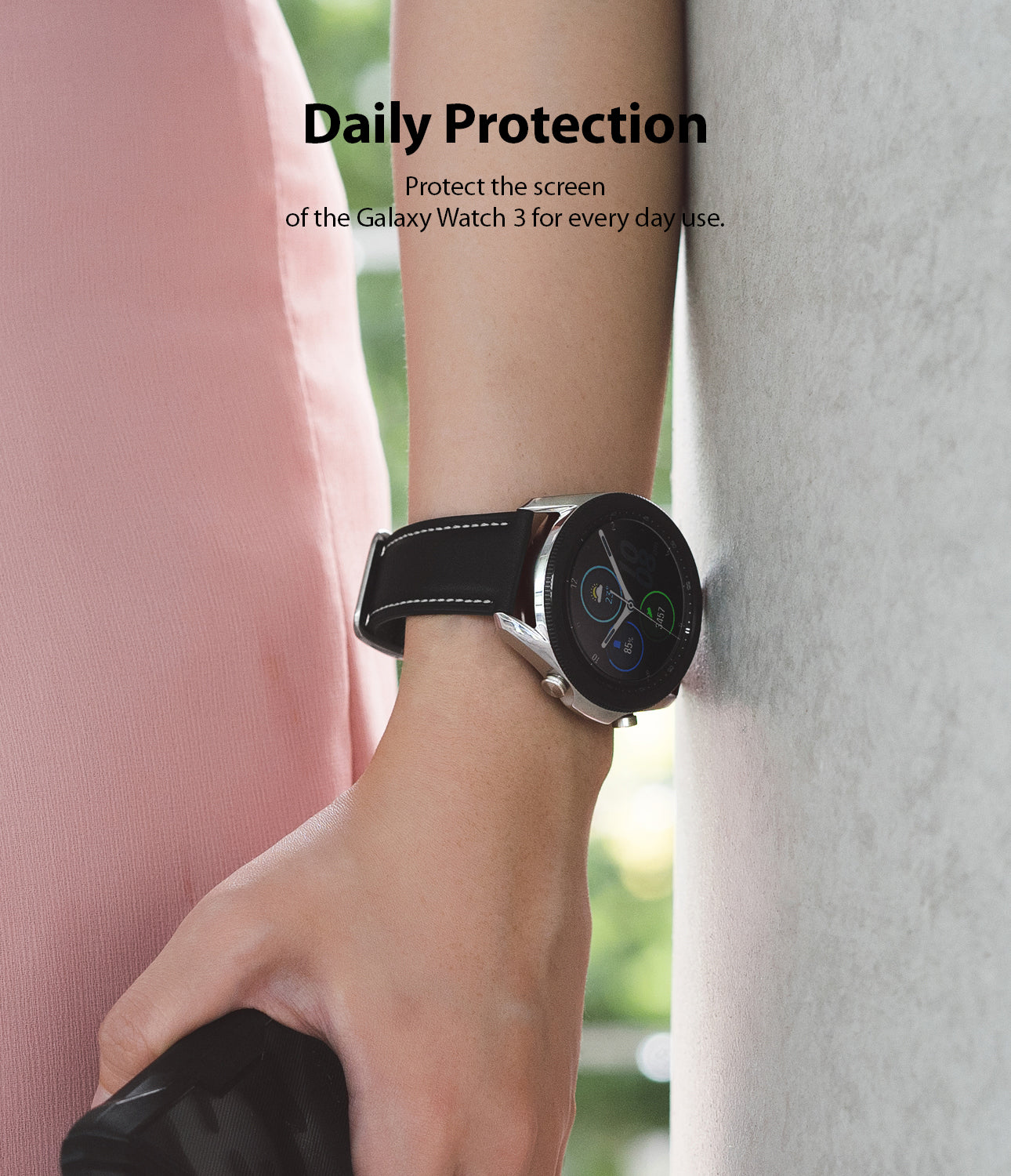 protect the screen of the galaxy watch 3 for everyday use