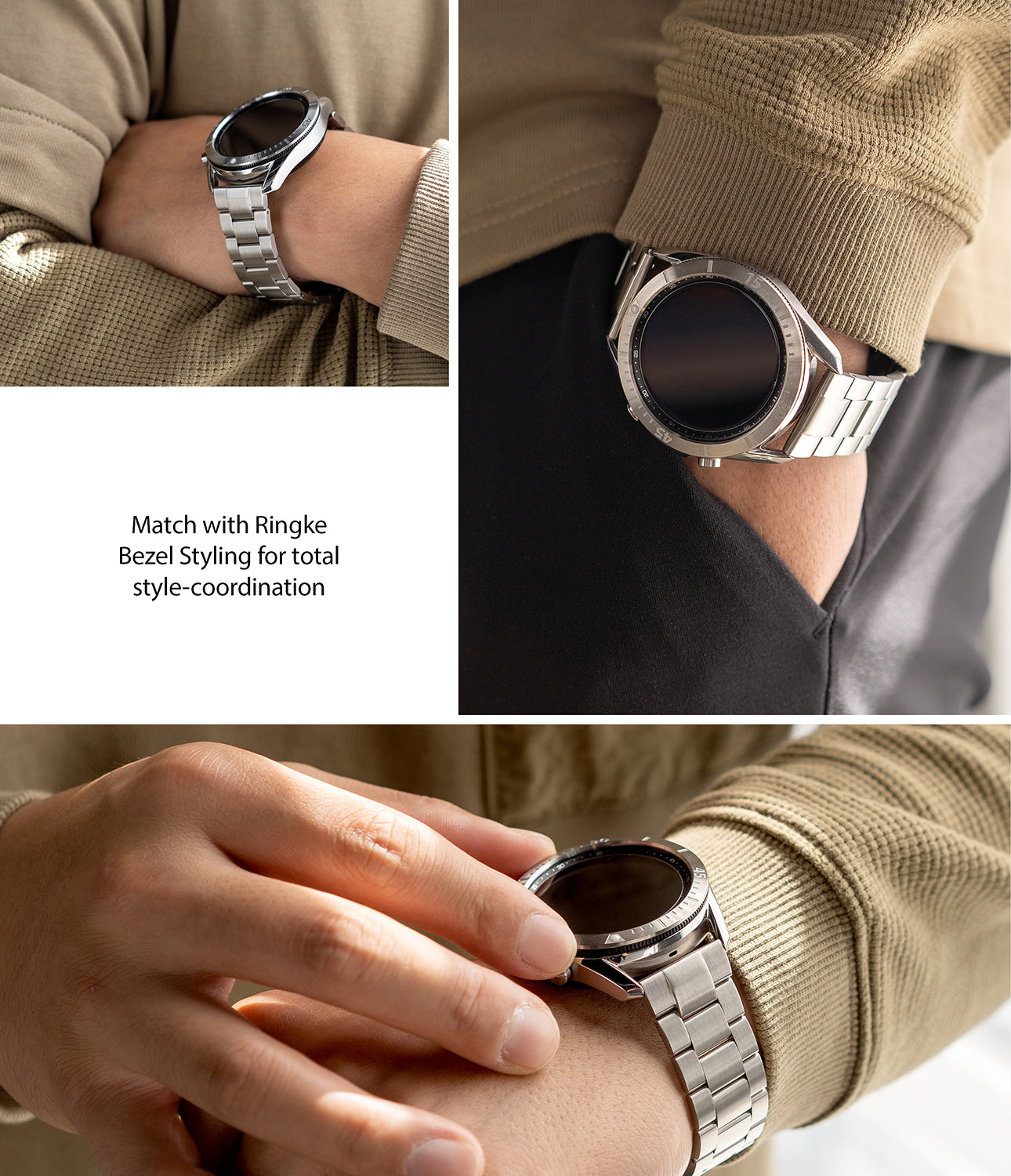 match with ringke bezel styling for total style-coordination