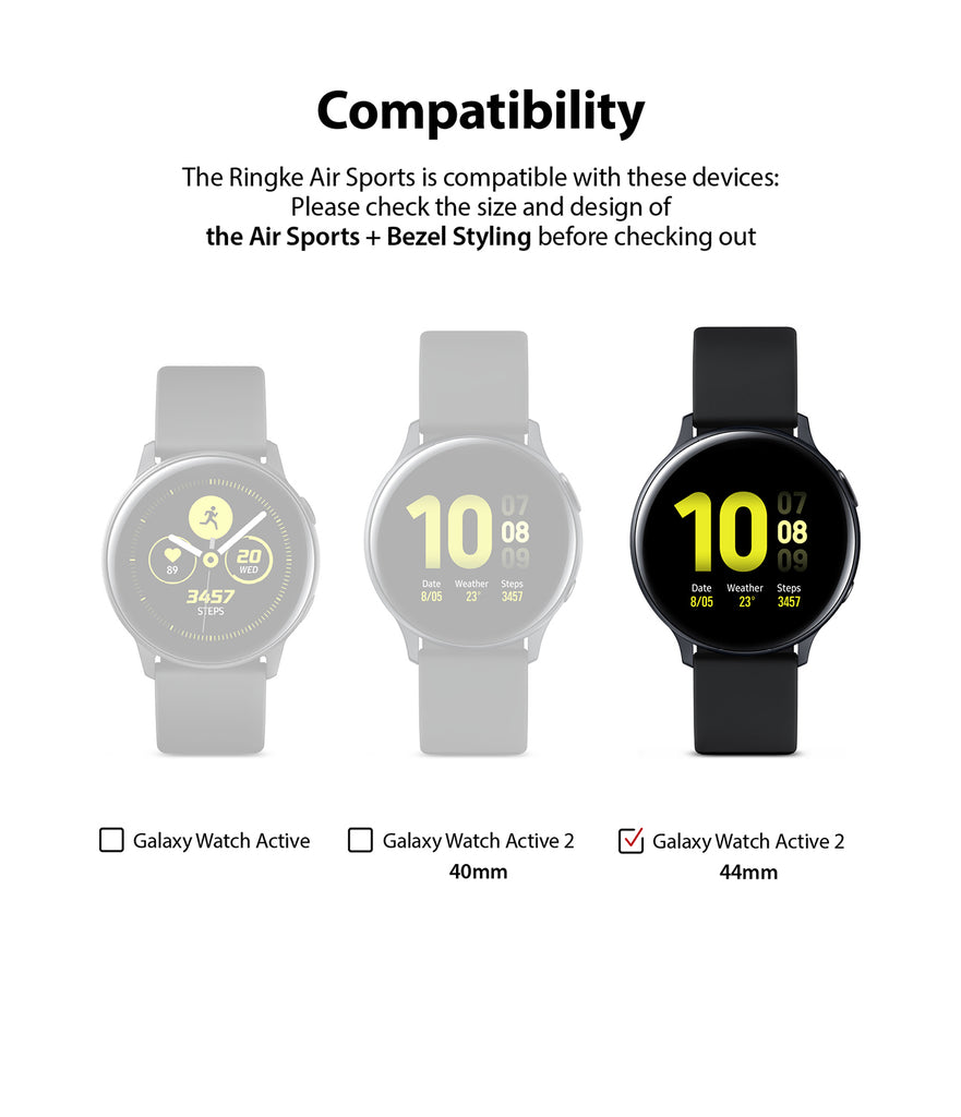 compatible with galaxy watch active 2 44mm