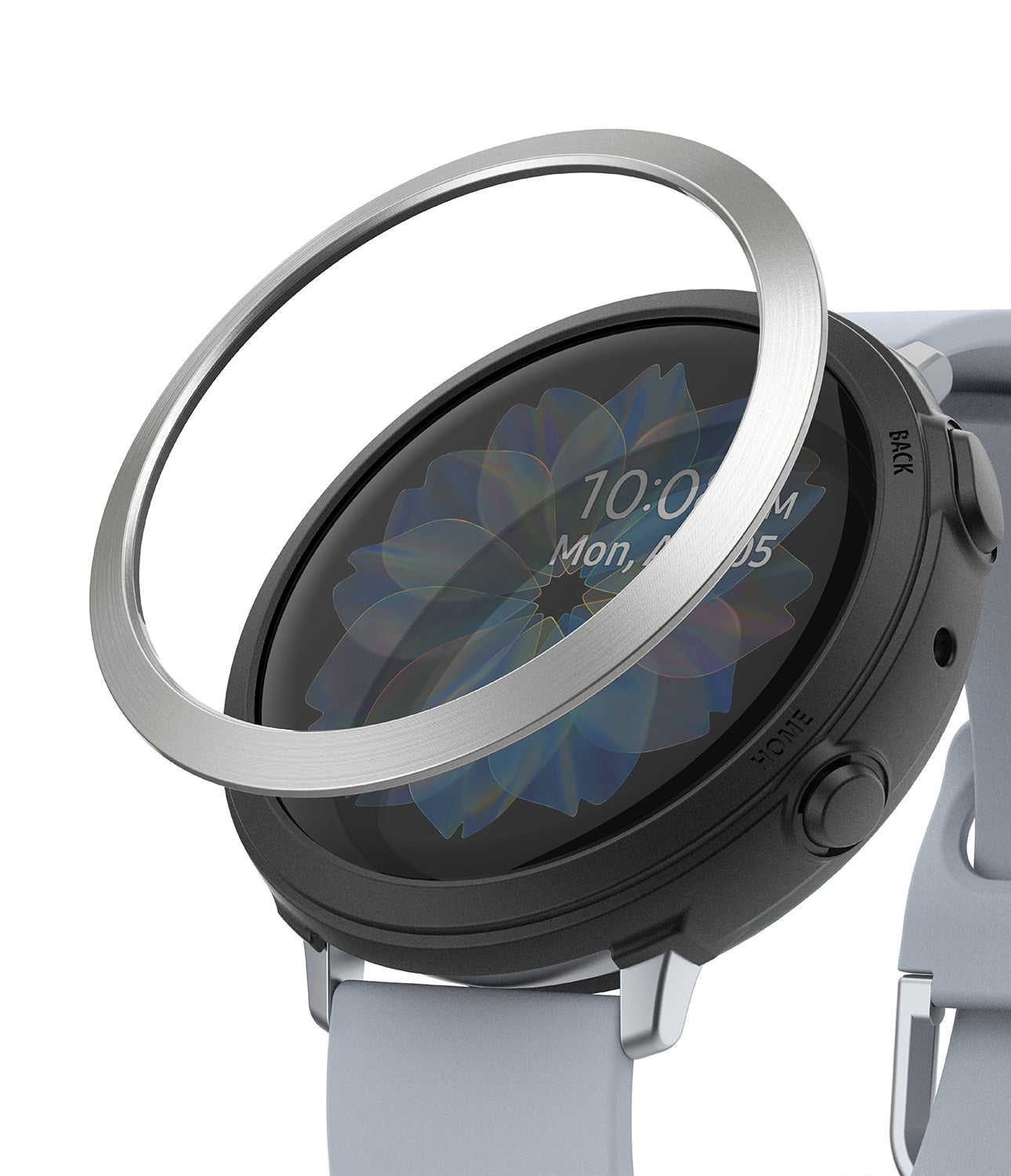 galaxy watch active 2 case air sports + bezel styling combo : black + 20