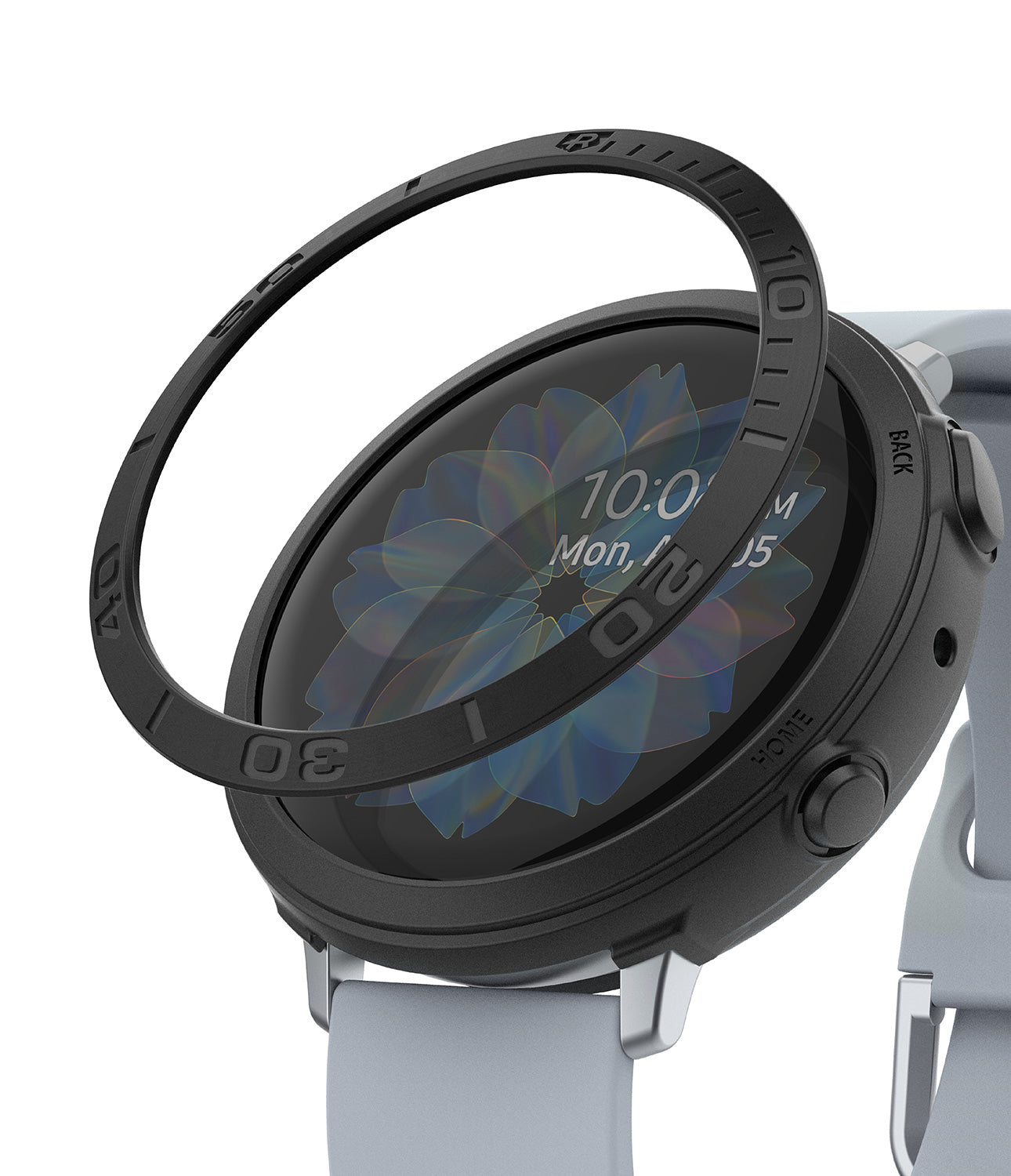 galaxy watch active 2 case air sports + bezel styling combo : black + 31
