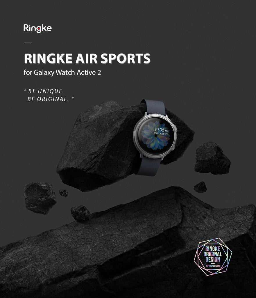 galaxy watch active 2 44mm case ringke air sport