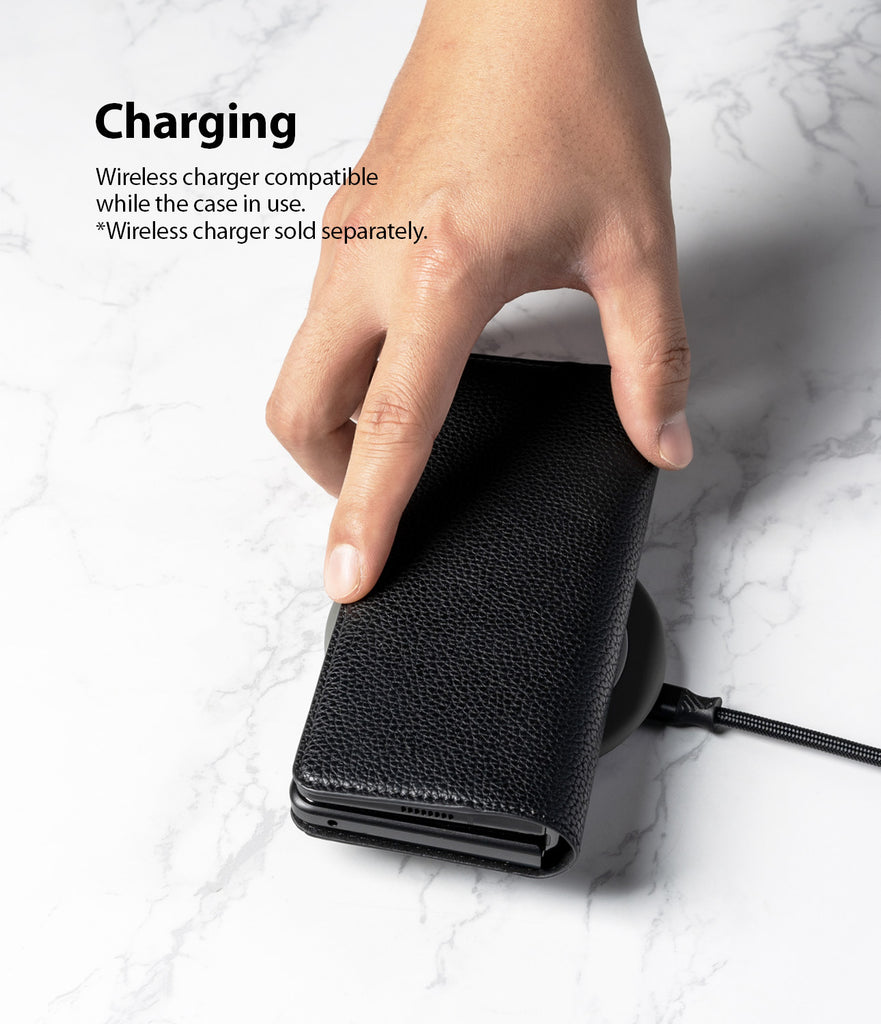 wireless charger compatible while the case in use