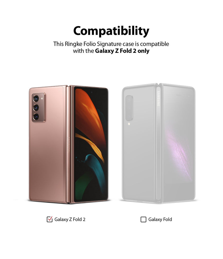 only compatible with galaxy z fold 2