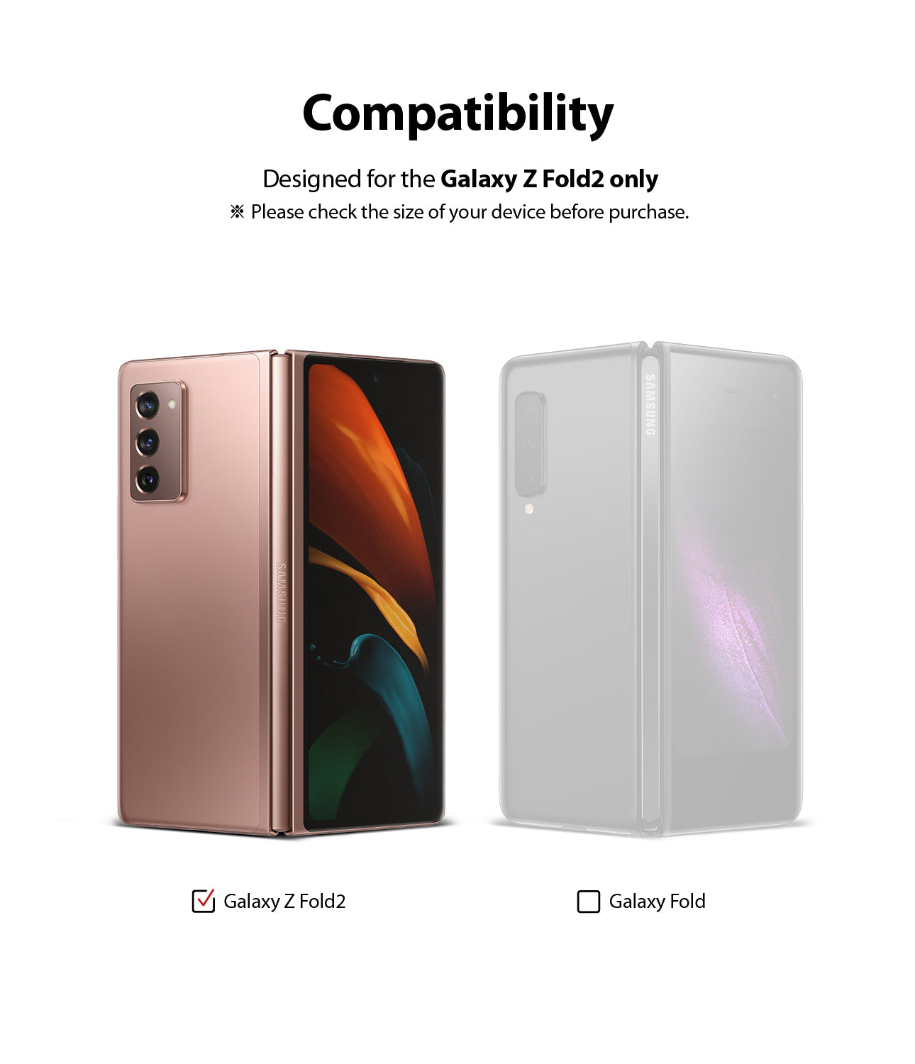 compatible with galaxy z fold 2