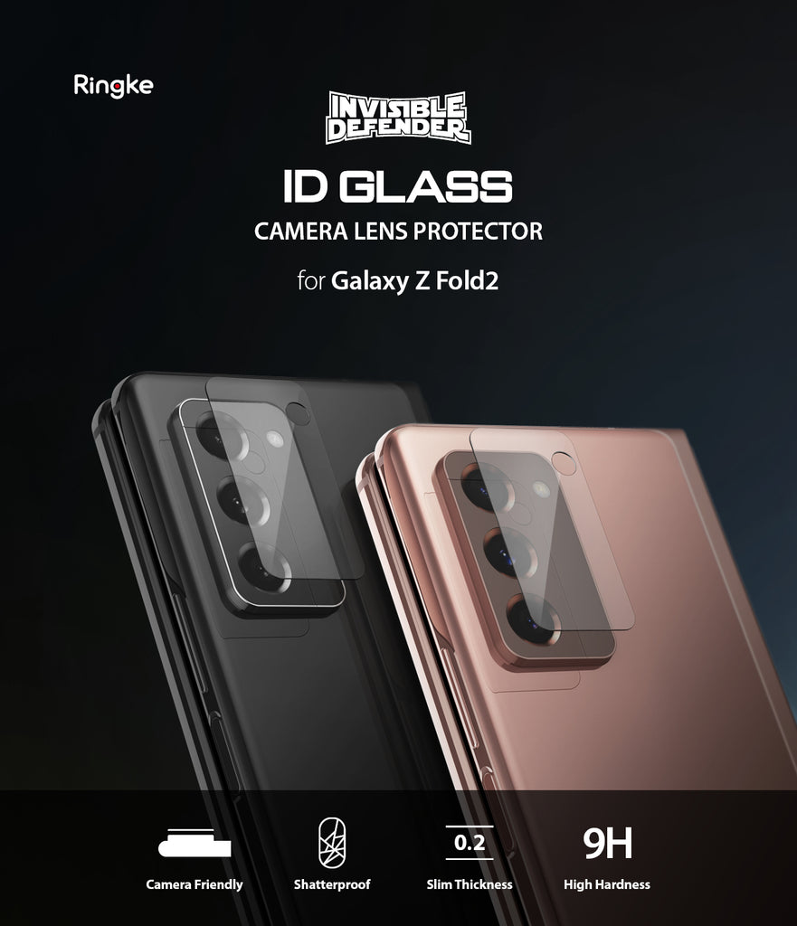 ringke tempered glass camera protector for samsung galaxy z fold 2
