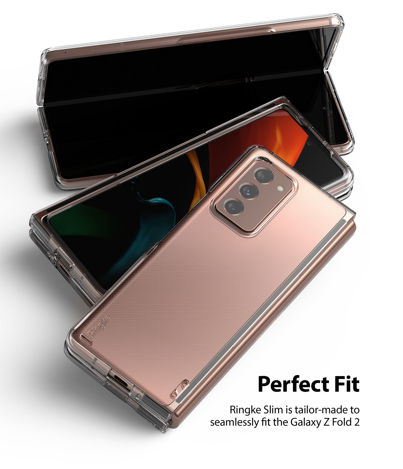 tailor made to fit seamlessly fit the galaxy z fold 2