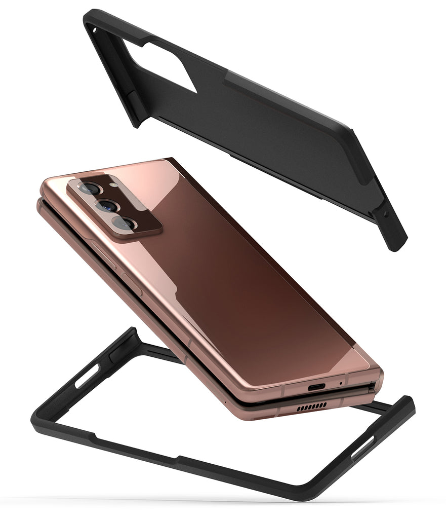 samsung galaxy z fold 2 case - ringke slim black