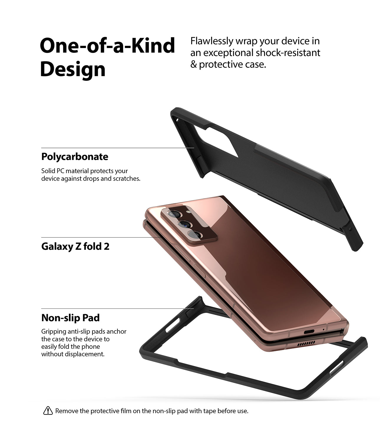 flawlessly wrap your device in an exceptional shock-resistant and protective case