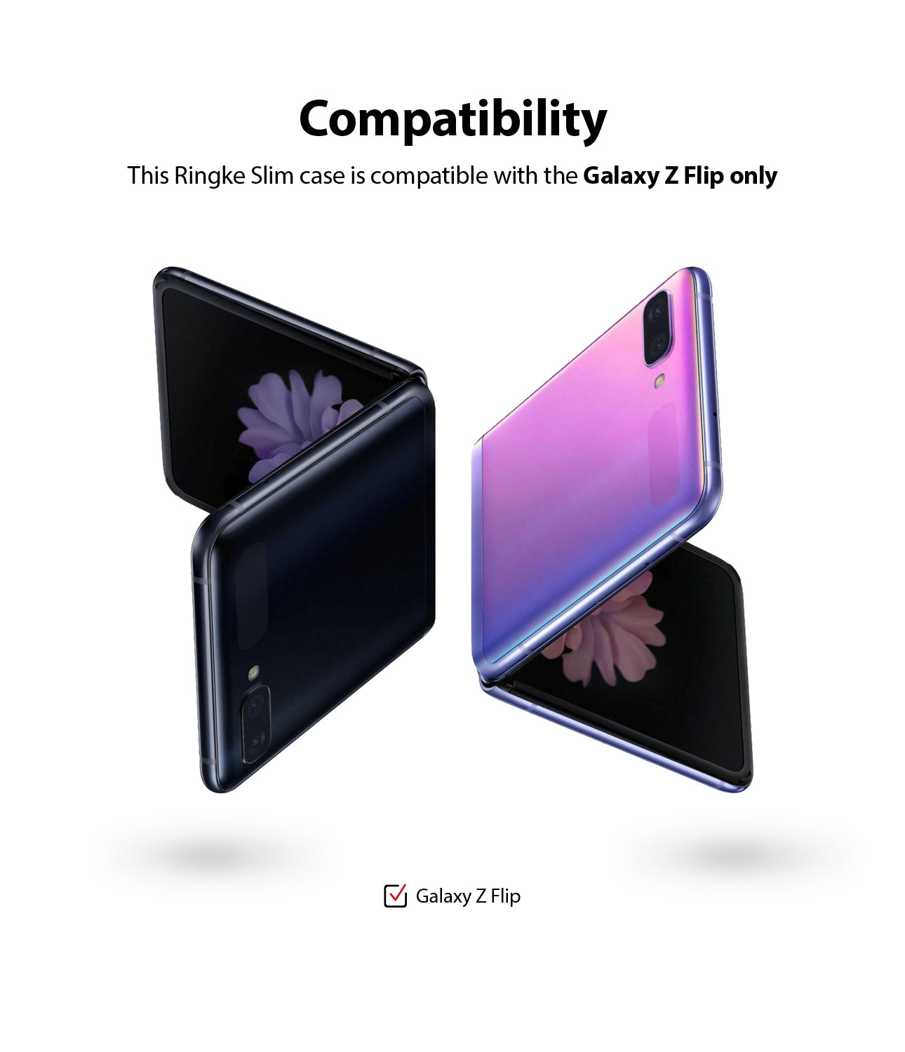 compatible only with samsung galaxy z flip